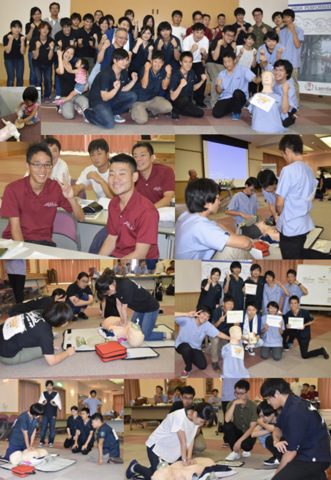中国四国ブロックの様子(8/27 呉共済病院)