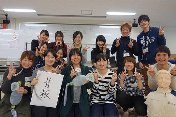 広島大学 HALS(Hiroshima Activities for Life Support) のメンバー