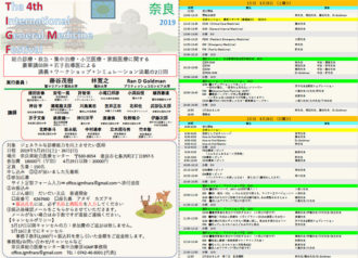 "The 4th International General Medicine Festival  ""IGMF2019 in NARA"""